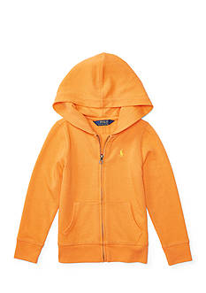Ralph Lauren Childrenswear French Terry Full-Zip Hoodie Toddler Girls