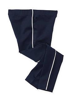 Ralph Lauren Childrenswear Piped Cotton-Blend Leggings Toddler Girls