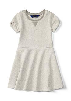 Ralph Lauren Childrenswear Terry Fleece Dress Toddler Girls