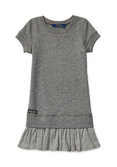 Ralph Lauren Childrenswear French Terry Fleece Dress Toddler Girls