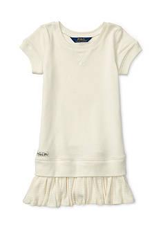 Ralph Lauren Childrenswear French Terry Fleece Dress Toddler Girls