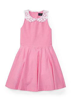 Ralph Lauren Childrenswear Gingham Dress Toddler Girls