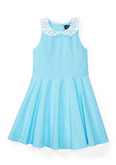Ralph Lauren Childrenswear Gingham Dress Toddler Girls
