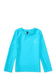Ralph Lauren Childrenswear Long-Sleeve Rash Guard Toddler Girls