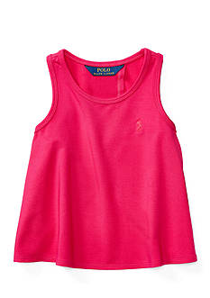 Ralph Lauren Childrenswear Jersey Knit Tank Tops Toddler Girl
