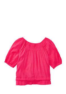 Ralph Lauren Childrenswear Smocked Top Toddler Girl