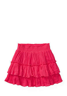 Ralph Lauren Childrenswear Two-Tier Ruffle Skirt Toddler Girl