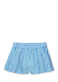 Ralph Lauren Childrenswear Bengal Stripe Short Toddler Girls
