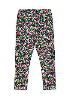 Ralph Lauren Childrenswear Cotton Jersey Floral Legging Toddler Girls