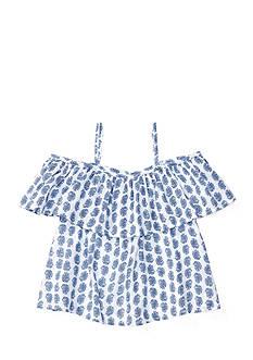 Ralph Lauren Childrenswear Paisley Print Top Toddler Girl