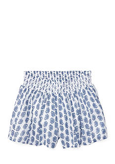 Ralph Lauren Childrenswear Paisley Short Toddler Girl