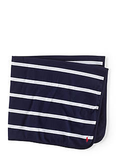 Ralph Lauren Childrenswear Preppy Rugby-Striped Blanket