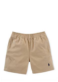 Ralph Lauren Childrenswear Cotton Twill Sport Short Baby Boy