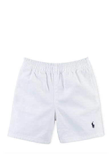 Ralph Lauren Childrenswear Cotton Twill Sport Short Baby Boy
