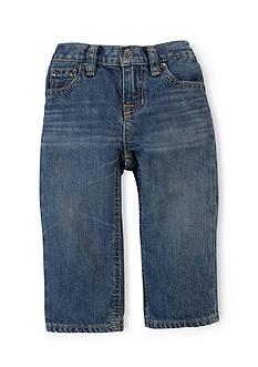 Ralph Lauren Childrenswear Slim Fit Denim Pants