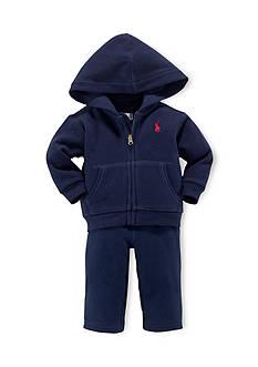 Ralph Lauren Childrenswear 2-Piece Hoodie and Soft Pants Set