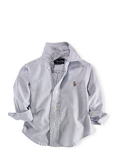 Ralph Lauren Childrenswear Striped Oxford Shirt
