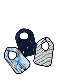 Ralph Lauren Childrenswear Bib Set Toddler Boys