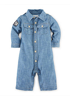 Ralph Lauren Childrenswear Cotton Chambray Coverall