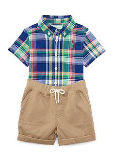 Ralph Lauren Childrenswear Short Set Baby/Infant Boy