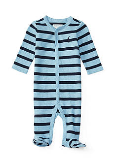 Ralph Lauren Childrenswear Striped Coverall Baby/Infant Boy