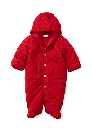 Ralph Lauren Childrenswear Quilted Barn Bunting Baby Boy