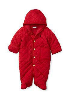 Ralph Lauren Childrenswear Quilted Barn Bunting Baby Boy