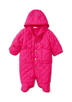 Ralph Lauren Childrenswear Quilted Bunting
