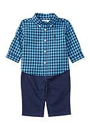 Ralph Lauren Childrenswear 3-Piece Checkered