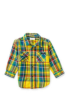 Ralph Lauren Childrenswear Twill Matlock Shirt Baby Boy