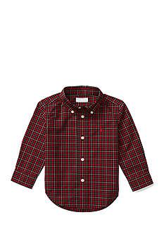 Ralph Lauren Childrenswear Long Sleeve Poplin Shirt Baby/Infant Boys