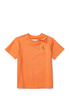 Ralph Lauren Childrenswear Jersey Short Sleeve Cotton Tee