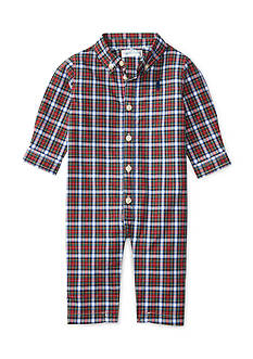 Ralph Lauren Childrenswear Kensington One Piece Coverall Infant/Baby Boys