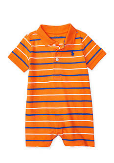 Ralph Lauren Childrenswear Cotton Jersey Polo Shortall Baby Boy