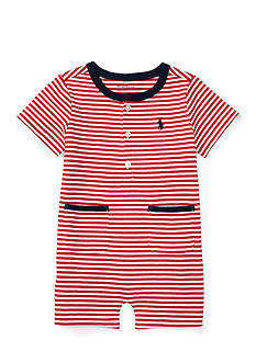 Ralph Lauren Childrenswear Jersey Stripe Shortall