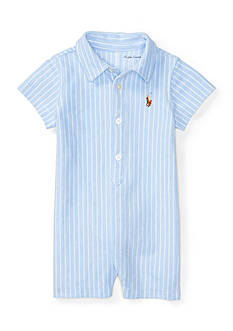 Ralph Lauren Childrenswear Oxford Mesh Shortall