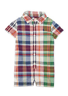 Ralph Lauren Childrenswear Plaid Shortall
