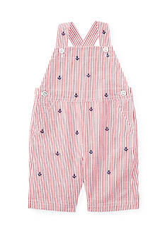Ralph Lauren Childrenswear Seersucker One-Piece