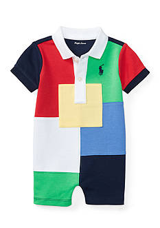 Ralph Lauren Childrenswear Patchwork Shortall
