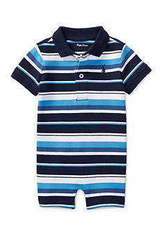 Ralph Lauren Childrenswear Mesh Stripe Polo Shortall
