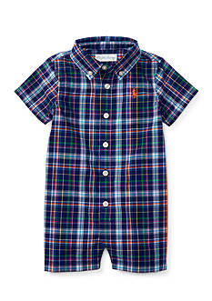 Ralph Lauren Childrenswear Madras Oxford Shortall
