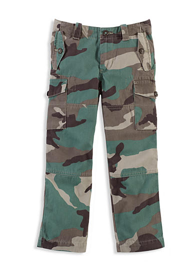 Ralph Lauren Childrenswear Camouflage Cargo Pants Toddler Boys