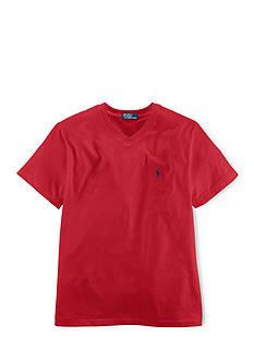 Ralph Lauren Childrenswear Jersey V-Neck Tee Shirt Toddler Boys