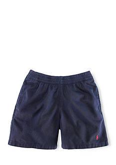 Ralph Lauren Childrenswear Cotton Twill Shorts Toddler Boys