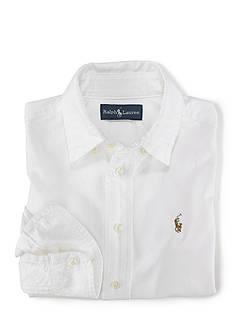 Ralph Lauren Childrenswear Button Front Sport Shirt Toddler Boys