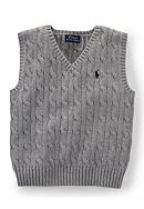 Ralph Lauren Childrenswear Cable-Knit Sweater
