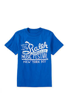 Ralph Lauren Childrenswear Music Festival Graphic Tee Toddler Boys
