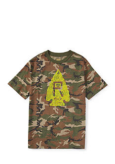 Ralph Lauren Childrenswear Camo Graphic Tee Toddler Boys