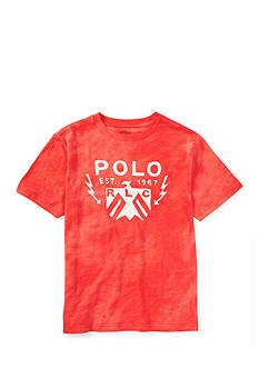 Ralph Lauren Childrenswear Tie Dye Graphic Tee Toddler Boys