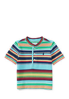 Ralph Lauren Childrenswear Stripe Henley Tee Toddler Boys